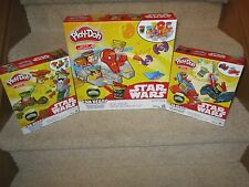 Star Wars Play Doh Can Heads Millennium Falcon Mission On Endor Luke Darth Vader