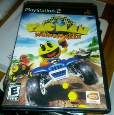 PAC-MAN WORLD RALLY (PLAYS LIKE MARIO KART) PS2 BLACK LAB GAME SEALED NEW PACMAN