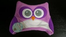 Owl Baby Kids Toddler Winter Cold Hat Purple [G22/A]