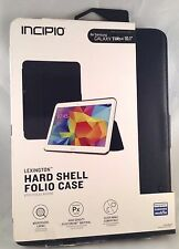 "NEW!!! Incipio Lexington Folio Case for Samsung Galaxy Tab 4 10.1"" - Black"