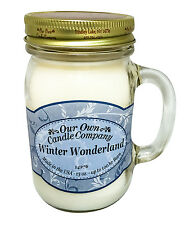 Winter Wonderland Scented Candle in 13 oz Mason Jar by Our Own Candle Company
