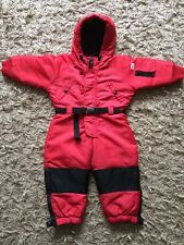 Kids Unisex Red Ralph Lauren Ski Snow Winter All In One Suit 2-3 Years ⭐️VGC⭐️