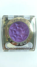 3 X L'Oreal Chrome Intensity Eye Shadow  180 Purple Obsession