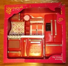 Our Generation Gourmet Kitchen Set For 18-Inch Dolls Damaged Box
