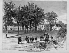 HOME FOR EX-CONFEDERATE SOLDIERS AND SAILORS AT RICHMOND VIRGINIA AMPUTEES