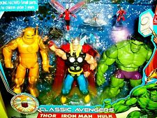 Avengers Marvel Comics Universe ANT MAN WASP HULK THOR IRON MAN Action Figures
