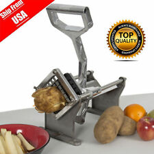 Commercial Quality Potato French Fry Fruit Vegetable Cutter Slicer W 3 Blades TN