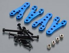 INTEGY Lower Shock Mount Lift Kit SCX-10 Off-Road  INT C24949 BLUE