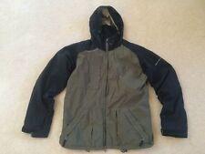 Mens size Medium Sessions Terrain Series Ski Snowboard Jacket olive green coat