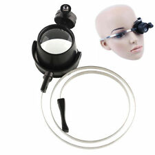 LED Head Lamp Light Small Lens With Headband Magnifier Magnifying Glasses Loupe
