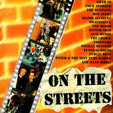 ON THE STREETS Oi Compilation CD (1997 We Bite) Neu!