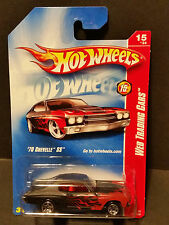 2008 Hot Wheels #091 Web Trading Cars 15/24 - '70 Chevelle SS - M6993 1L
