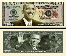 Farewell President Obama 2016 Dollar Bill Collectible Novelty Note