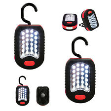 2pcs LED Work Light 24 Flashlight 3 Stand Camping Hiking Magnet Hanging Pol