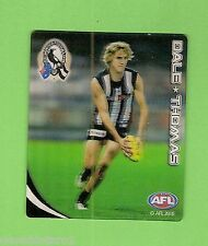 #D222. 2010 AFL  TAZO #16 DALE THOMAS,  COLLINGWOOD MAGPIES