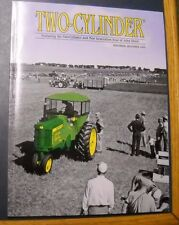 TWO-CYLINDER MAGAZINE NOV/DEC 2009 JOHN DEERE 720 DIESEL TRACTOR WEATHER BRAKE