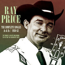 RAY PRICE New Sealed 2016 COMPLETE SINGLES As & Bs 1950-62 3 CD BOXSET