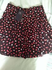 BNWT M&S Collection Lips Mini Skirt, Size 10 Petite