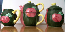 VERY NICE DECORATIVE COLLECTIBLE COUNTRY INN COLLECTION TEA POT SET OF 6 PIECES