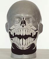 Bandero Biker Motorcycle Face Mask - Raptor Design