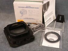 LINDAHL REVOLVING CAMERA BRACKET LENS SHADE #30-1020 62MM, USED, IN ORIGINAL BOX