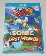 Sonic Lost World for Nintendo Wii U Brand New! Factory Sealed!