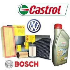 Kit tagliando olio CASTROL EDGE 5W30 5LT 4 FILTRI BOSCH VW GOLF 6 VI 2.0 125 KW