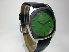 VINTAGE RICOH 21J AUTOMATIC DAY&DATE JAPAN MADE MOVEMENT DIAL WRIST WATCH