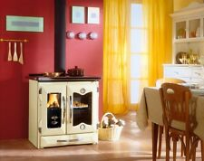 "Wood Cook Stove La Nordica ""Mamy Cream"" Cooking Range & Baking Oven"
