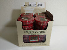 Yankee Candle Red Apple Wreath Tarts Box of 24 NEW!