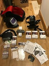 SPEEDGLAS 9100xx Air WELDING HELMET ,  NEW 3M LITHIUM ADFLO, + EXTRAS
