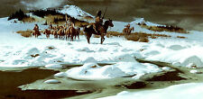 """Frank McCarthy """"The Traders"""" limited edition print"""