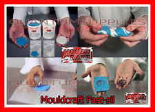 Mouldcraft Fast-Sil 50g Mould Making Silicone Putty RTV Food safe Sugarcraft