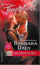 When the Lights Go Out... by Barbara Daly (2004, Paperback) fast shipping!! LOOK