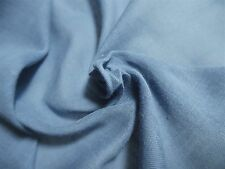 """SHEER 100% COTTON VOILE~FRENCH BLUE~18""""x 28""""~DOLL DRESS FABRIC"""
