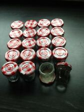 20 x Empty 30g Bonne Maman Jam Small Pot/Jar Jams, Chutney, wedding favours etc.
