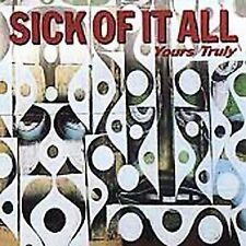 Yours Truly by Sick of It All (Alt Rock) (CD, Nov-2000, Fat Wreck Chords)