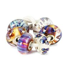 AUTHENTIC TROLLBEAD PURPLE HEAVEN KIT 63049 SET PARADISO VIOLA