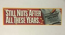 Southwest Airlines Still Nuts After All These Years bumper sticker