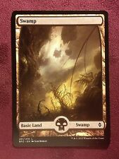 Battle for Zendikar Full Art Land  Swamp #261  VO  -  MTG Magic (Mint/NM)