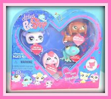 ❤NEW NIB Littlest Pet Shop LPS VALENTINE Friendliest DACHSHUND 556 557 558 559❤