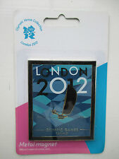 LONDON 2012 OLYMPIC FRIDGE MAGNET SAILING SEALED