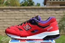 NEW BALANCE 1600 ELITE EDITION SZ 9.5 PINBALL RED BLACK PURPLE CM1600BD