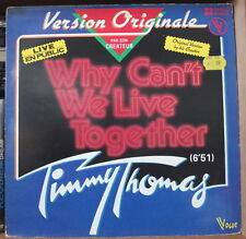 TIMMY THOMAS WE CAN'T WE LIVE TOGETHER LIVE EN PUBLIC LIMITED ED. FRENCH LP 1979