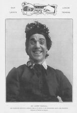 THEATRE Mr Harry Randall Music Hall Comedian - Antique Photographic Print 1903