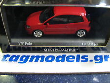 MINICHAMPS 1:43 VW POLO 2005 BRAND NEW IN A BOX