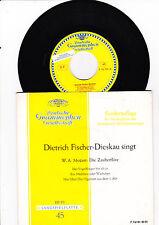 """7"""" - Dietrich Fischer-Dieskau singt -------"""