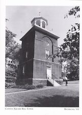 "*Postcard-""The Capital Square Bell Tower""  (Built in 1824)- *Richmond, VA (#210)"