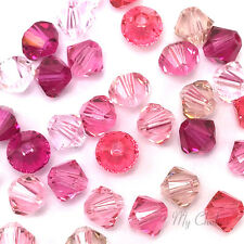 50 Swarovski 5328/5301 Crystal Xilion Bicone Beads MIXED COLOR*Pick Size & Color