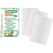 20 PZ - PANNELLO ISOLANTE DEPRON CM 80X125 MM 6